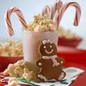 Gingersnap Popcorn Snack Mix