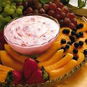 Creamy Strawberry Dip