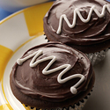 Surprise Chocolate Cupcakes with Wisconsin Mascarpone Cheese