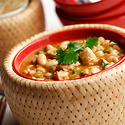 Tomatillo Bean and Chicken Chili